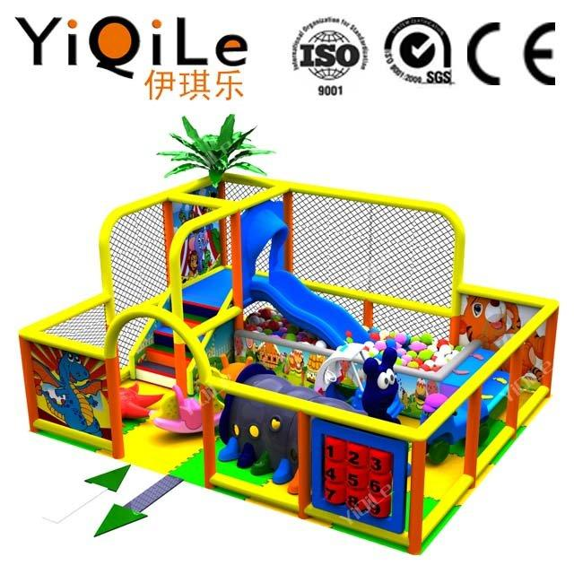 Animal world indoor amusement park equipment for children