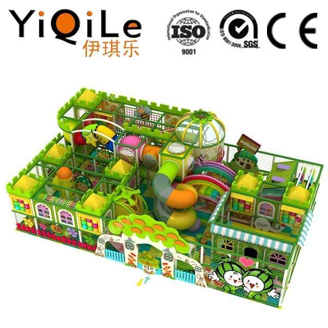Indoor soft play equipment kids playhouse
