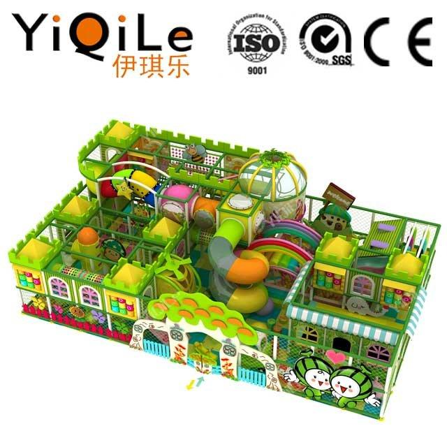 Indoor soft play equipment kids playhouse