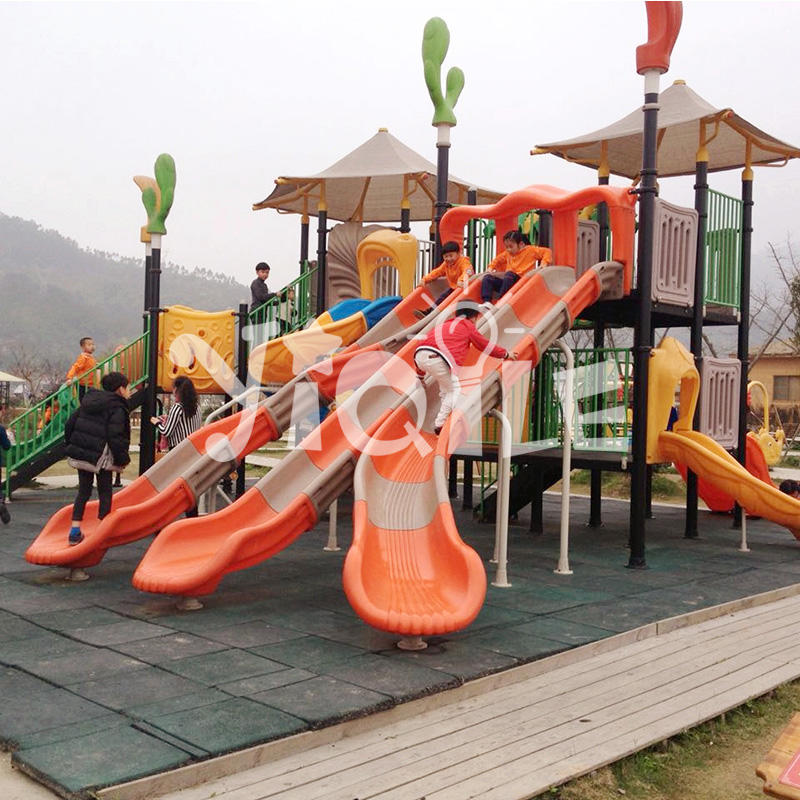 Large unique design kids outdoor playground equipment sale