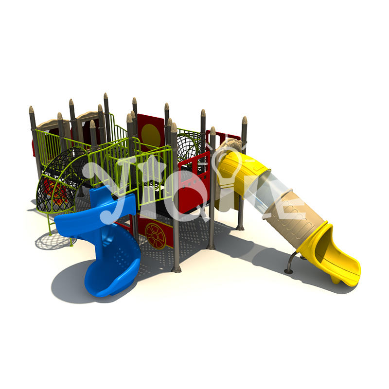 Newest deluxe kids outdoor games model be used for kindergarten and park