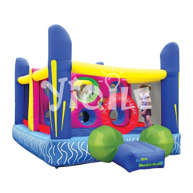 Happy Dodgeball Jumper Paradise inflatable bouncer for adventure