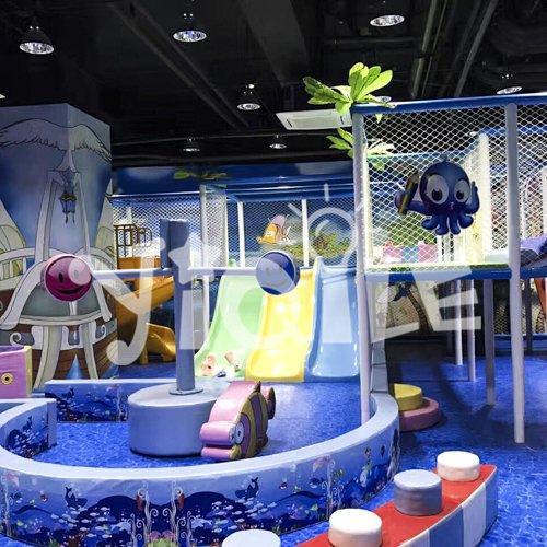 Underwater World Children Playground Equipment in America