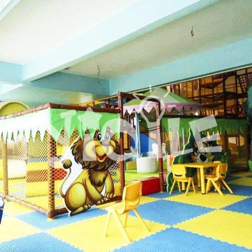 Cartoon Zoo Indoor Playground Equipment in Mexico