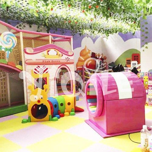 Pink House Kids Indoor Playground Equipment in Chile